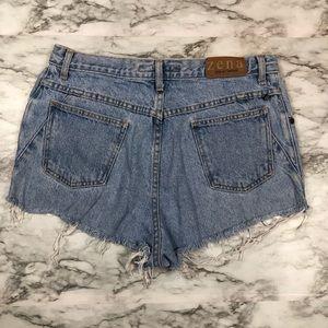 Zena distressed vintage shorts C26
